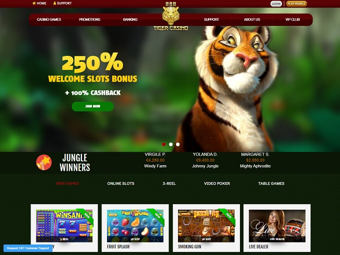 Want to know about the lucky tiger casino site